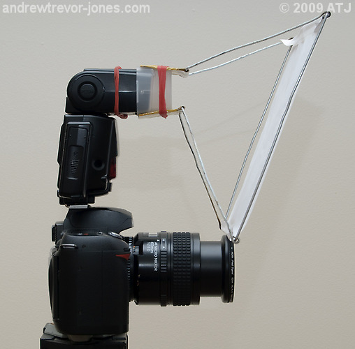 Homemade Popup Flash Diffusers: Sony Talk Forum: Digital
